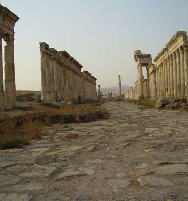 Photo Prints Syria Apamea Collonade
