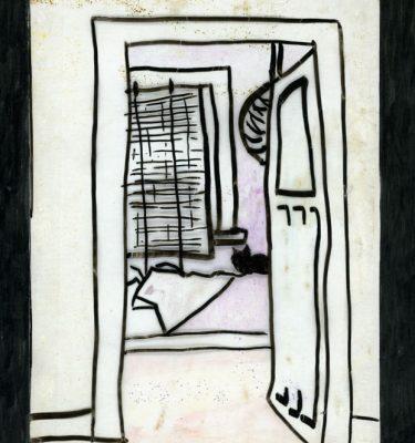 Drawing Prints Ning the Cat