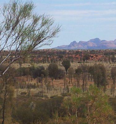 Photo Prints Australian Outback Outback Blush Haze