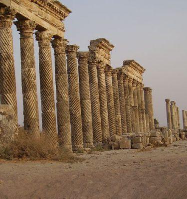 Photo Prints Syria Spiral Flutes Apamea