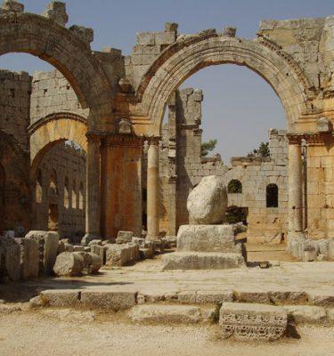 Photo Prints Syria St Simeon Pillar 2010