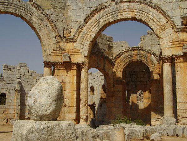 Photo Prints Syria St Simeon Stylite 2010